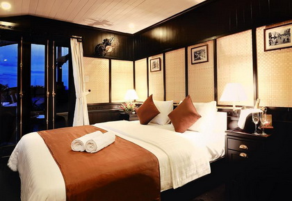 The only Bhaya Suite cabin in Bhaya Legend 1 Cruise
